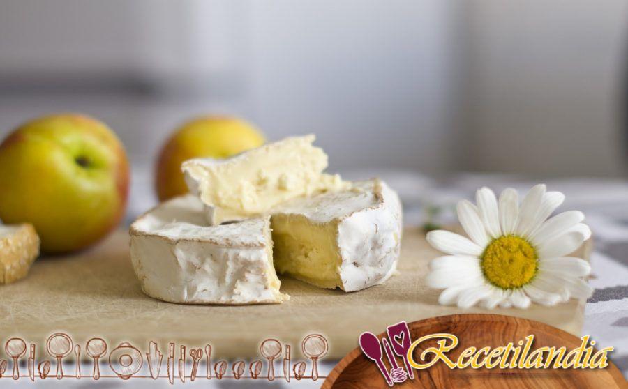 Camembert entarimado con chutney
