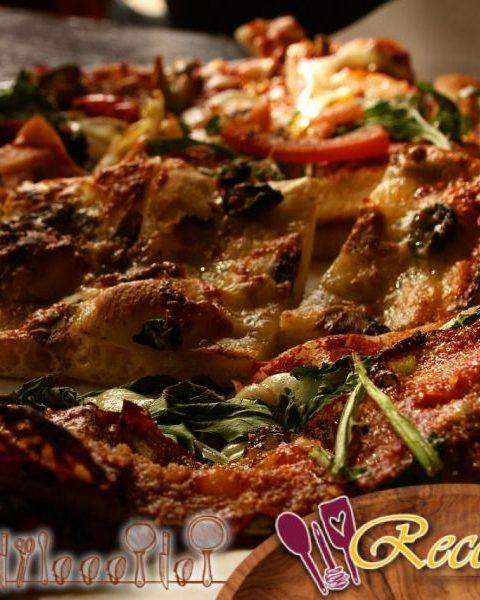 Fougasses con tocino (bacon)