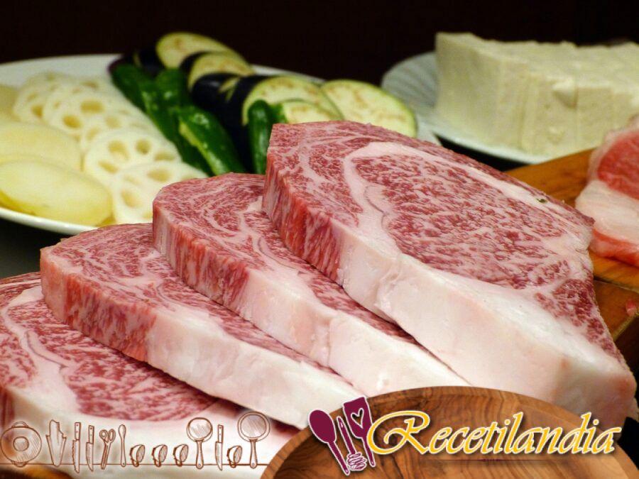 Chalote de carne de res de Kobe