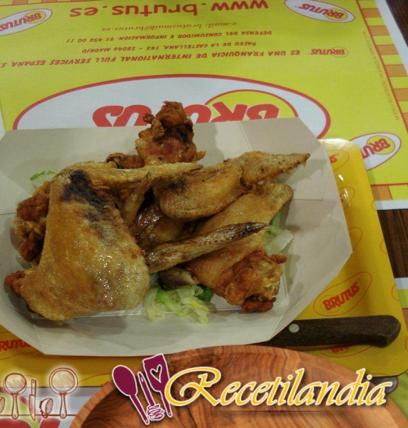 Alitas de pollo a la parrilla con especias de Hong Kong (Alitas Shek O)