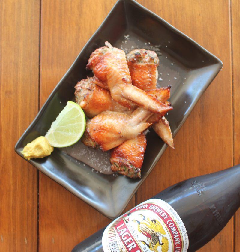 Alitas de ajo y limoncillo de Saigón