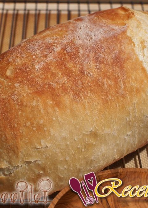 Baguettes sin amasar con tomates cherry
