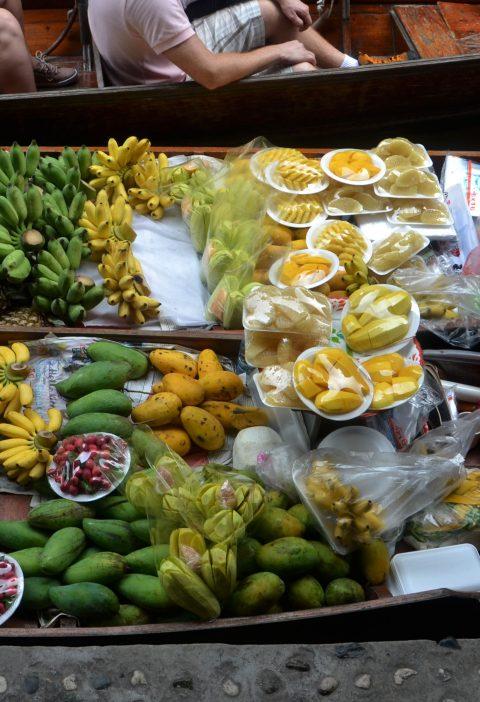 Bananas de coco tailandés