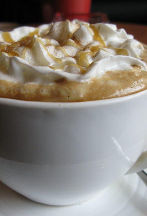 Café Latte con salsa barbacoa