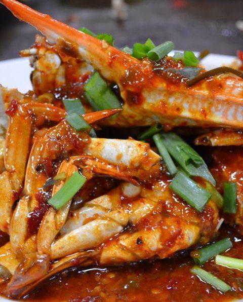 Cangrejo a la pimienta, una receta de Singapur