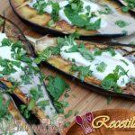 Batatas asadas e higos frescos