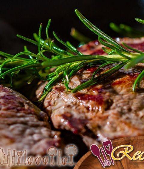 Cerdo marinado salteado con 5 especias