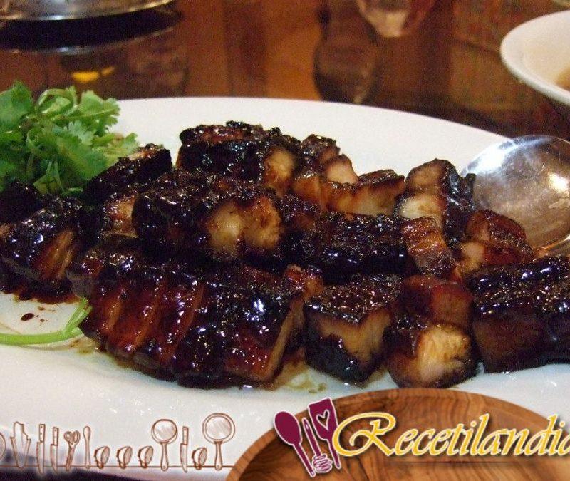 Char Siu Muslos de Pollo con Salsa Barbacoa Beijing