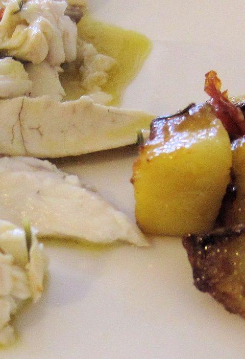 Chuletas de cerdo dulces y saladas