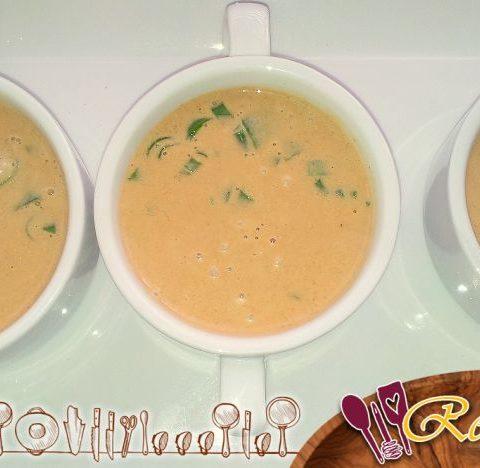 Crema de mantequilla con leche de coco y curry