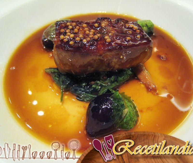 El foie gras en el microondas y la grulla de cacao, flor de sal de Algarve de Sonia Ezgulian