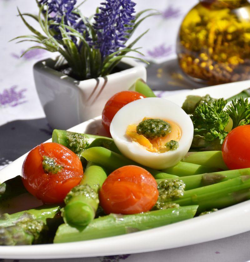 Ensalada de vegetales a la parrilla