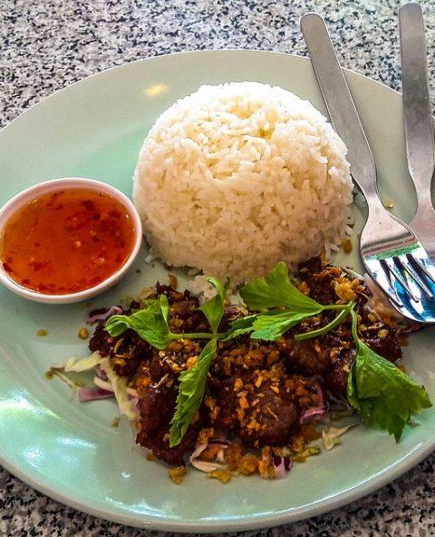 Ensalada Tailandesa de Carne de vacuno
