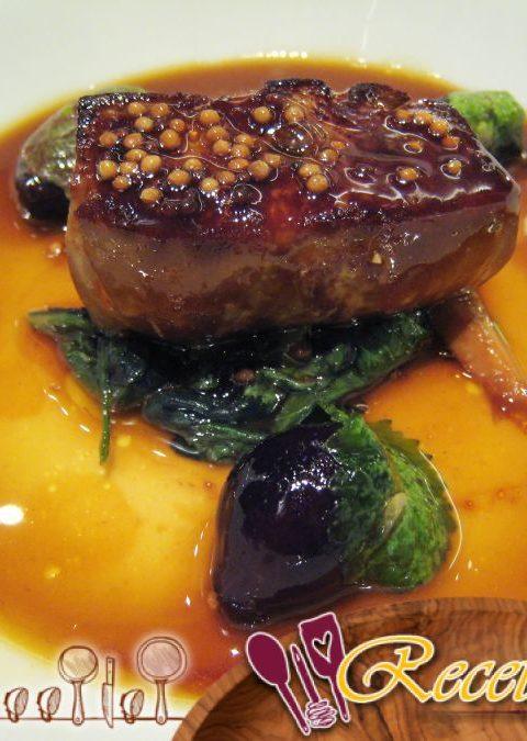 Foie gras con antorcha