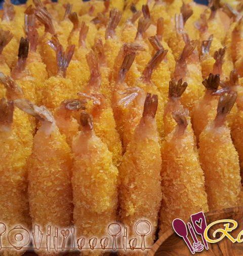 Gambas fritas con coco al estilo Trish Deseine