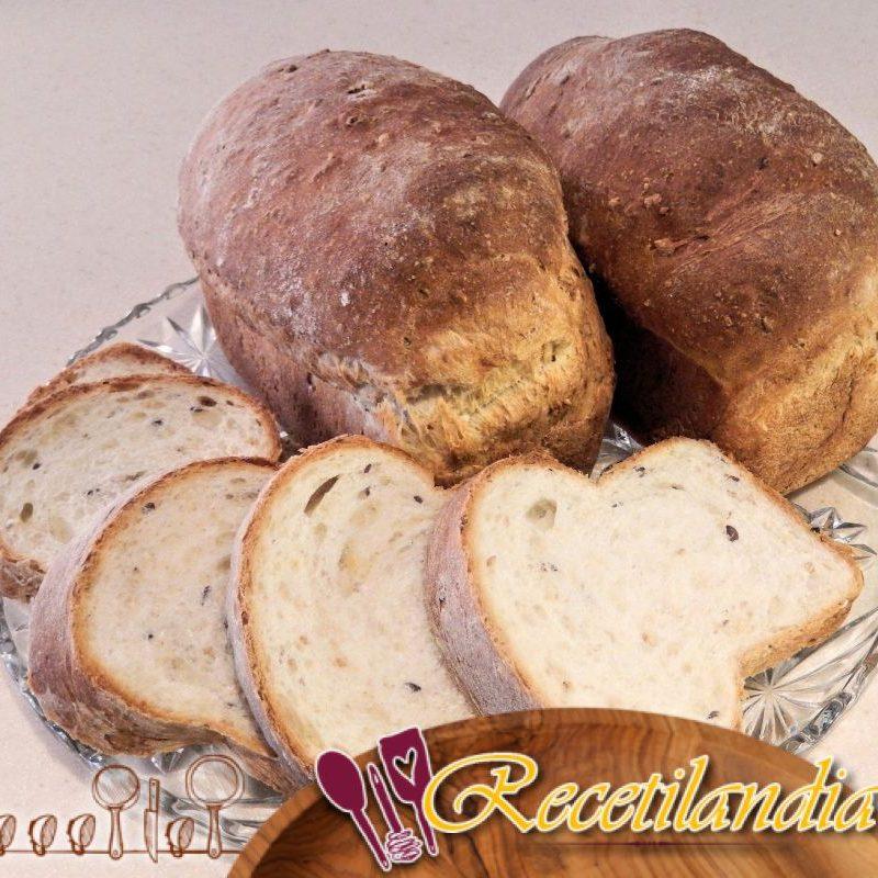 Harina de maíz y pan de semillas de lino