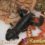 Costillitas glaseadas de piña con jengibre, piña y ron en salsa barbacoa