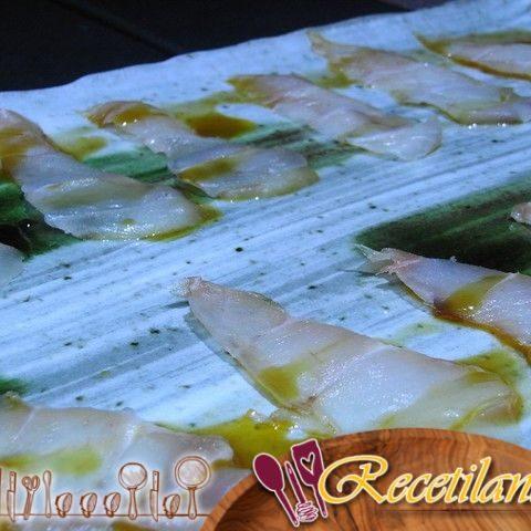 Lubina en aceite dulce y cítrico - Una receta de Olivier Roellinger