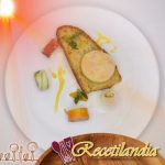 Ensalada de pescado marinado con alcachofas y pomelos