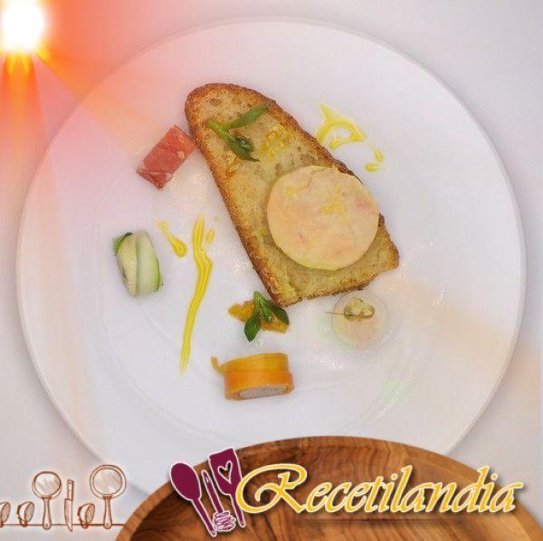 Makis de foie gras y Chutney de cítricos
