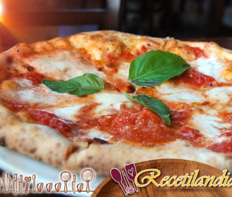 Masa gruesa y blanda para pizza