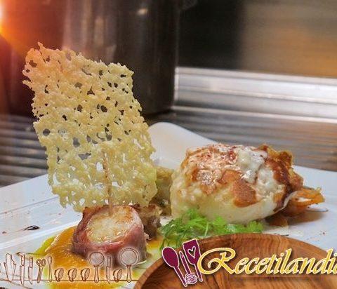 Medallones de rape con jamón de Parma: Una deliciosa mezcla de mar y tierra
