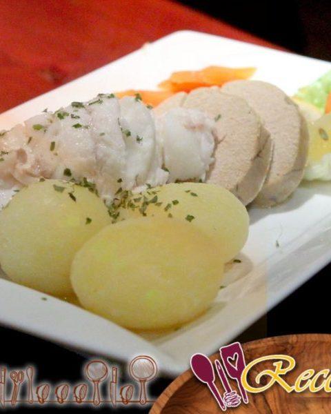 Mølje, plato tradicional noruego (bacalao con patatas)