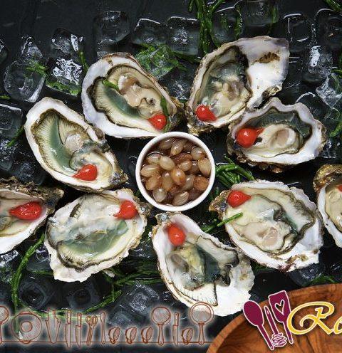 El tamaño de las ostras