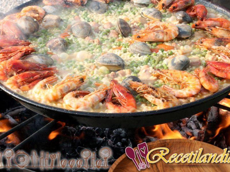 Paella: La receta típica de la paella valenciana (España)