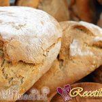 Pan con puré de calabaza y harina de castaña