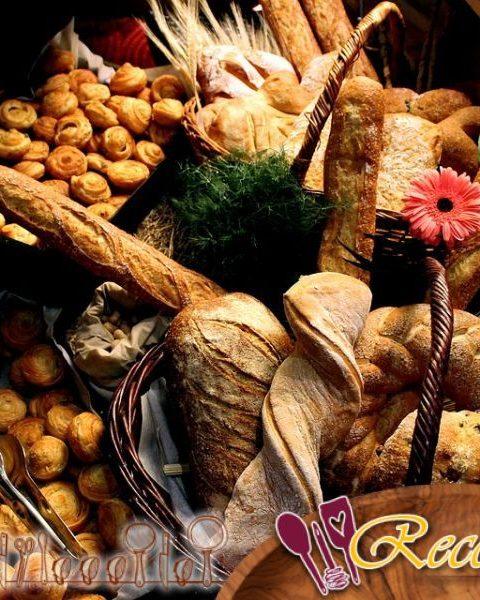 Pan de avena en una cazuela