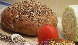 Pan de girasol