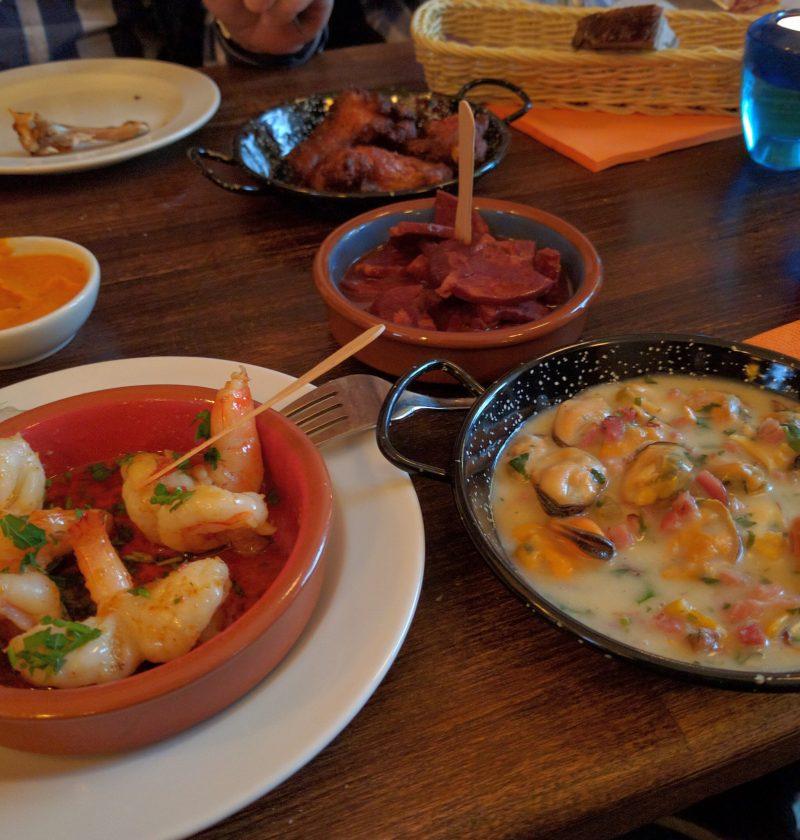 Pan de tomate a la plancha catalán