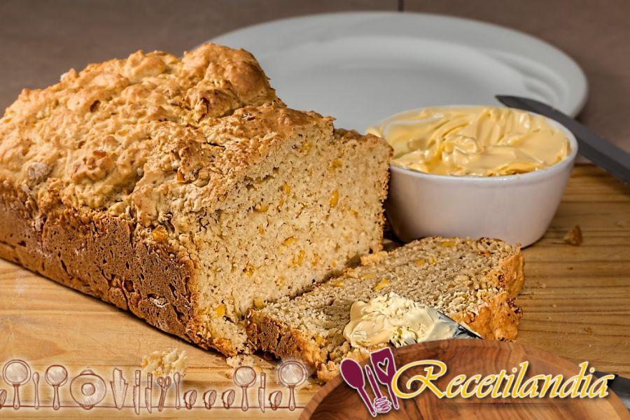 Pan de maíz con semillas de comino
