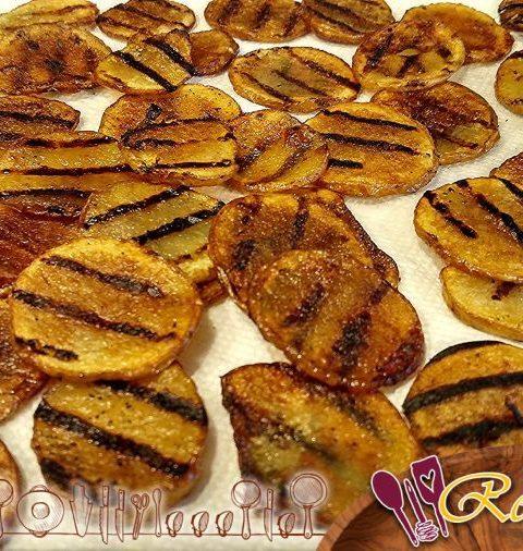 Patatas salteadas, patatas fritas