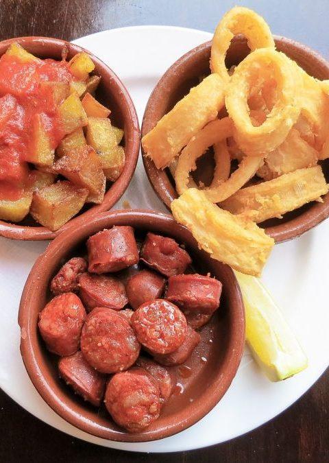 Patatas de campo, tomates y chorizo façon Yotam Ottolenghi