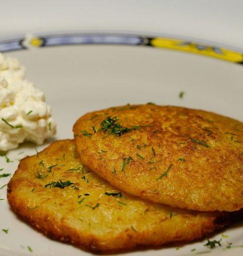 Frika - Tortitas de patata con queso - Eslovenia