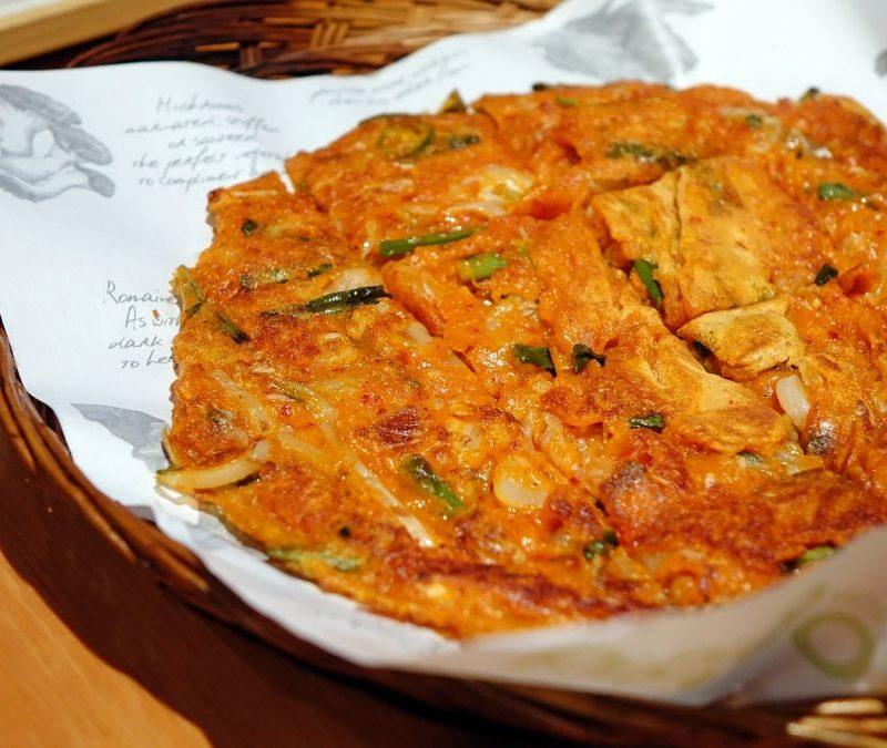 Modeumjeon, pizza coreana