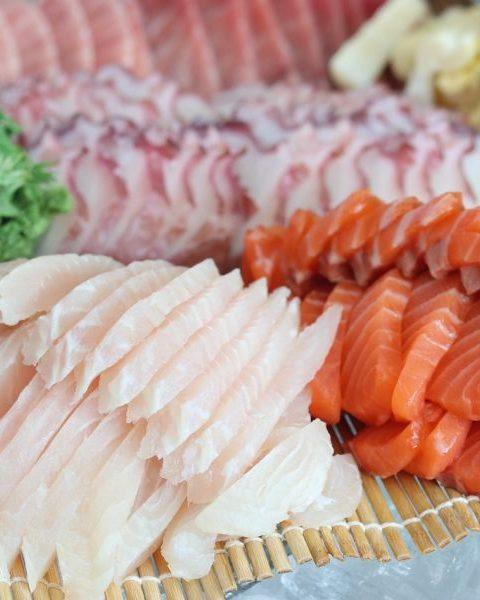 Filetes de platija con salsa de naranja