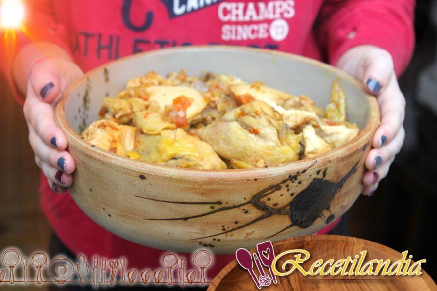 Pollo al Curry Cookeo
