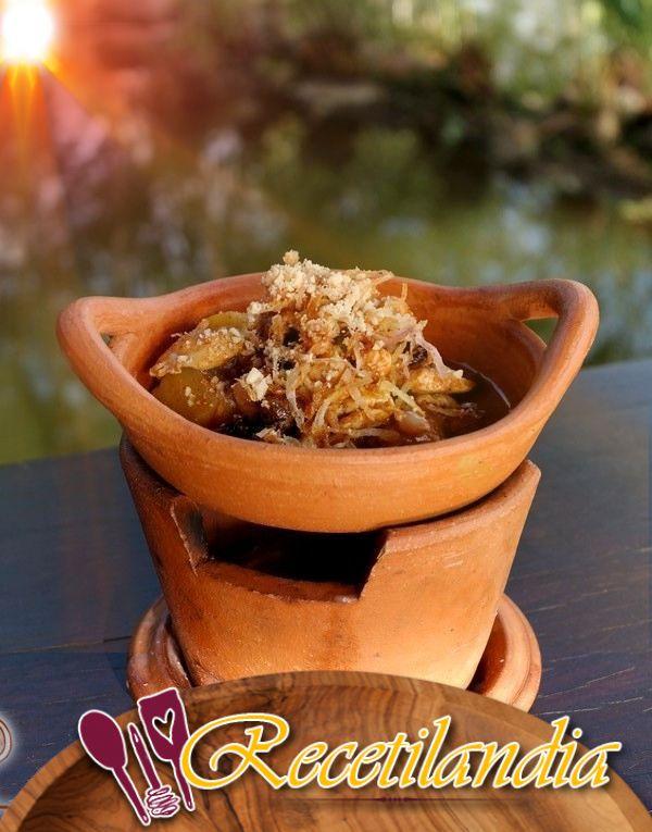 Pollo con curry Massaman