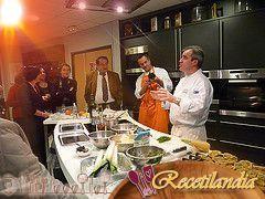 Profiteroles de ostras con caviar de Aquitania