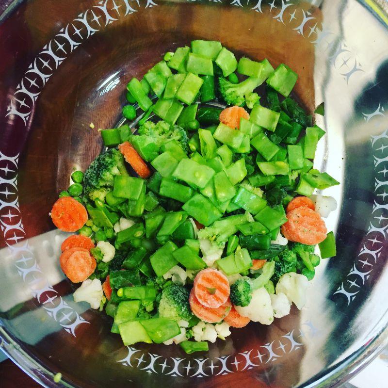 Puré de patatas con col verde