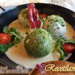 Bruschetta de pechuga de pato seca, rúcula y melón