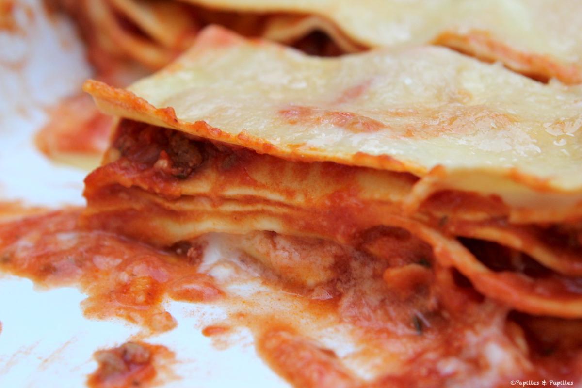 Receta de lasaña: Lasaña a la boloñesa