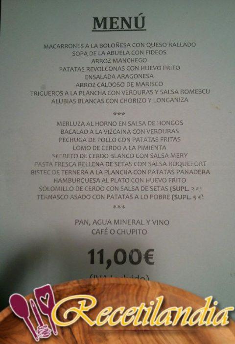 Secreto con salsa romesco