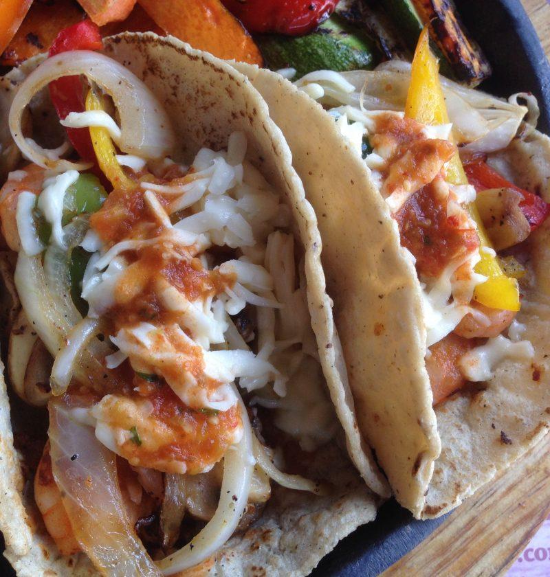 Tacos de atún a la parrilla
