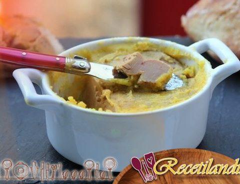 Terrina de foie gras casera con microondas {foie gras cocido}.