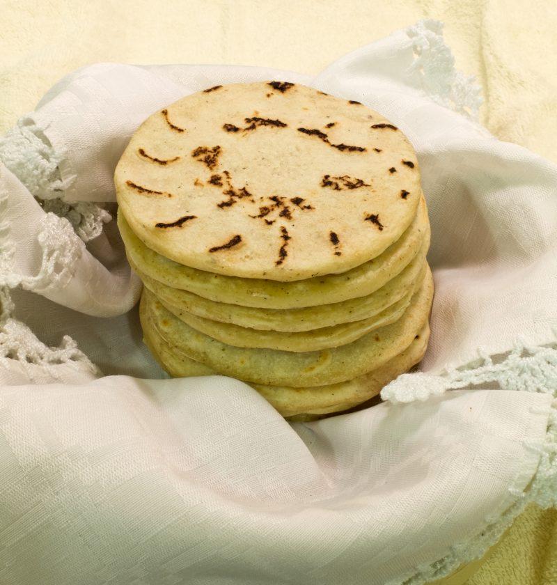 Tortillas a la parrilla