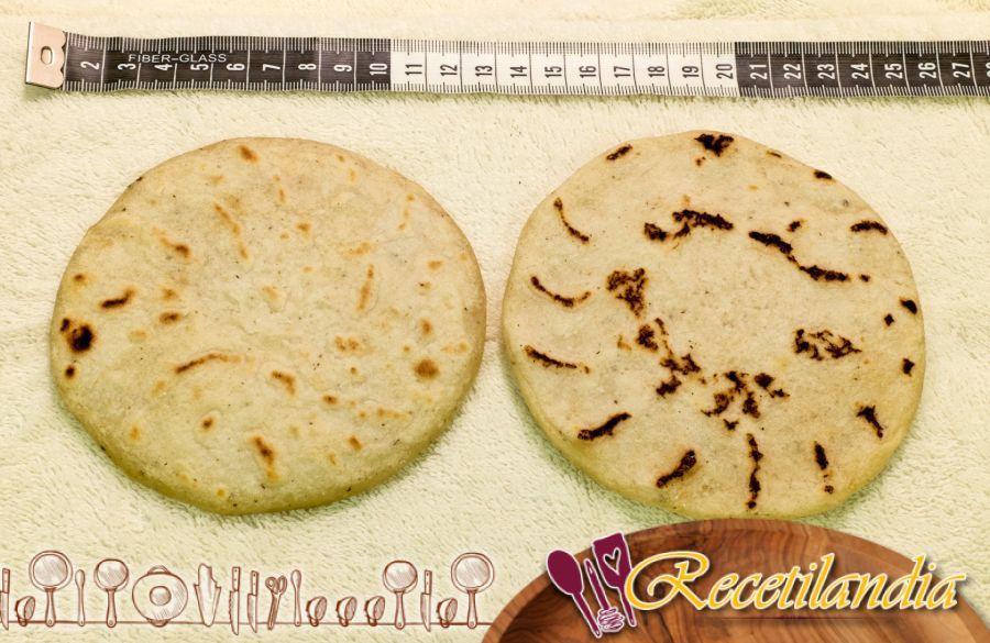 Tortillas mexicanas: panqueques de trigo o maíz